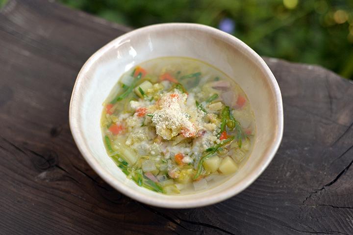 春野菜のスープ